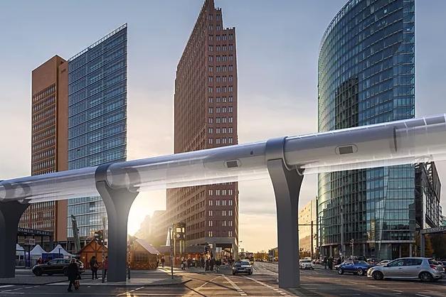 El hyperloop llegará en 2022 a Dubai