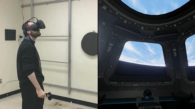 Astronaute entrena con Unreal Engine 4