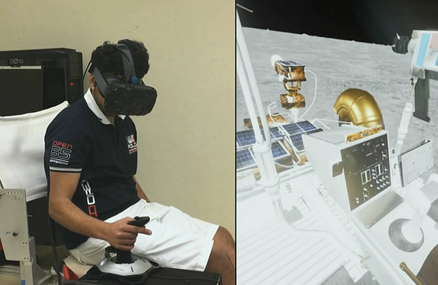 Entrenando a los astronautas de la NASA
