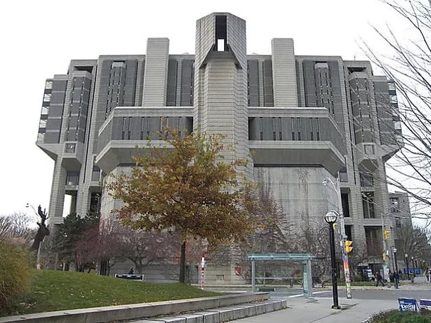 Biblioteca brutalista de Toronto