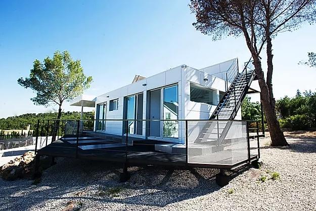 casa modular terminada