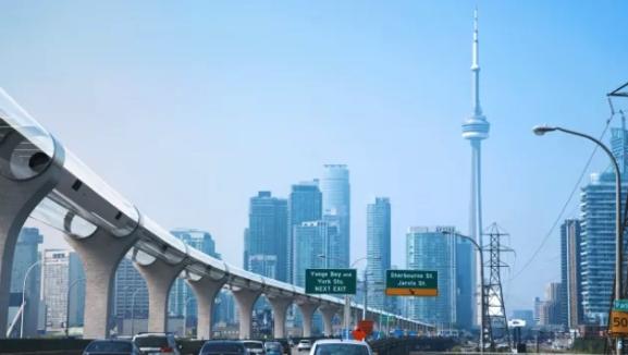 El hyperloop permitiría trabajar en una ciudad diferente