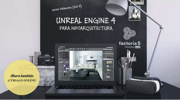 Unreal Engine 4 para infoarquitectura