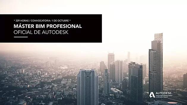 Máster BIM profesional oficial de Autodesk