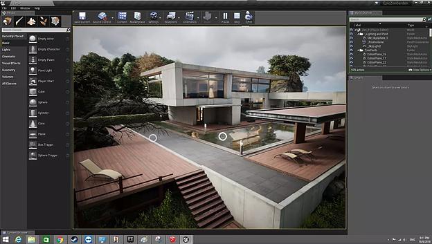 Visitas arquitectónicas virtuales